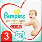 Pampers Premium Care Pants Size 3 Midi Diapers 6-11kg 28pcs