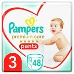 Pampers Premium Care Pants Diaper Size 3 Midi 6-11 kg 48pcs