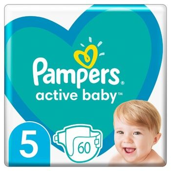Подгузники Pampers Active Baby 5 11-16кг 60шт