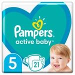 Підгузки Pampers Active Baby Розмір 5 11-16кг 21шт