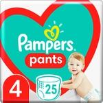Підгузки-трусики Pampers Pants Розмір 4 9-15кг 25шт