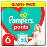 Pampers Pants Extra Size 6 Diapers 15+kg 66pcs