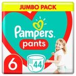Підгузки-трусики Pampers Pants Розмір 6 15+кг 44шт