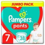 Підгузки-трусики Pampers Pants Розмір 7 17+ кг 38шт