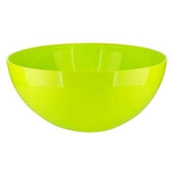Салатник Lamela Рукола пластиковий 3л - купити, ціни на Ашан - фото 1