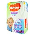 Трусики-подгузники Huggies Pants 5 для мальчиков 12-17кг 34шт
