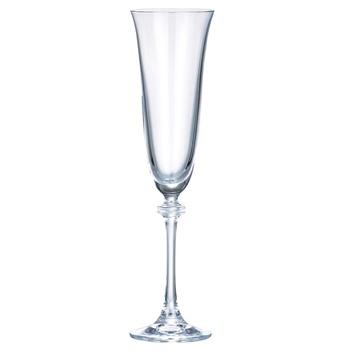 Набір келихів Bohemia Asio для шампанського 190мл 6шт