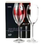 Glass Bohemia for wine 2pcs 450ml Czech republic