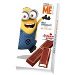 Шоколад молочный Любимов Кидс Дисней Карс с молочной начинкой плиточный 100г