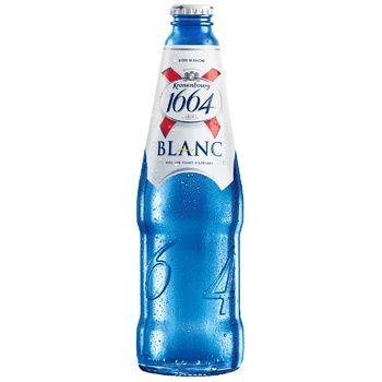 Kronenbourg 1664 Blanc Light Non-filtered Beer 4,8% 0,46l - buy, prices for CityMarket - photo 1
