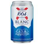 Пиво Kronenbourg 1664 Blanc светлое нефильтрованное 4,8% 0,33л