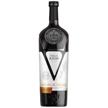 Вино Villa Krim Шевалье Руж красное полусладкое 9-13% 1,5л