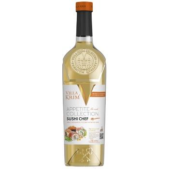 Villa Krim Sushi Chef White Semi-Dry Wine 9-14% 0,75l