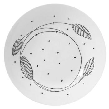 Тарелка Luminarc Sketch глубокая 20см