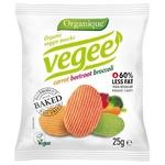 Снеки картофельные Organique Vegee органические без глютена 25г