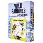 Сардина Trata дикого вылова в растительном масле 100г