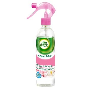 Airwick Aqua Mist magnolia-cherry for air spray 345ml - buy, prices for CityMarket - photo 1