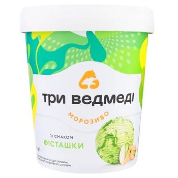 Try Vedmedi Pistachio Flavored Ice Cream 320g - buy, prices for CityMarket - photo 1