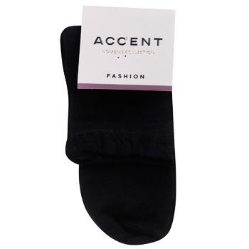 Accent Black Women's Socks 25s