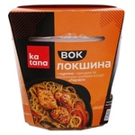 Katana with Chicken and Vegetables and Wood Mushrooms in Teriyaki Sauce Noodles 250g