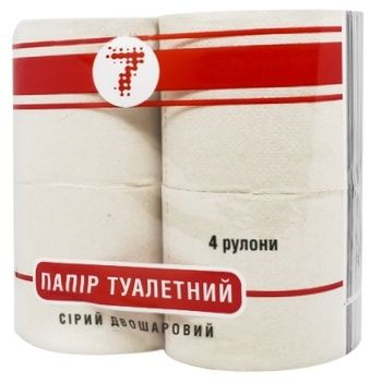 Semerka Gray Toilet Paper 4pc