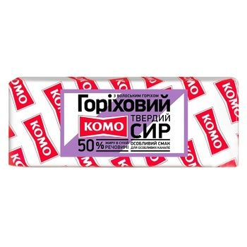 Komo Nuts cheese 50% - buy, prices for Novus - photo 1