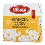 Olkom Creamy Butter Dough Margarine 70% 200г