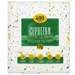 Салфетки белые Суббота 400шт - купить, цены на Таврия В - фото 2
