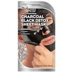 7th Heaven Charcoal Black Detox Mask-film for Face for Men 30g