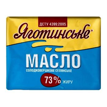 Масло Яготинське Селянське солодковершкове 73% 200г