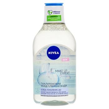 Гиалуроновая мицеллярная вода Nivea Make Up Expert 400мл