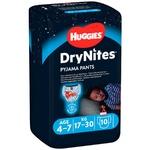 Нічні трусики-підгузники Huggies DryNites для хлопчиків 4-7років 10шт