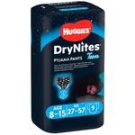 Нічні трусики-підгузники Huggies DryNites для хлопчиків 8-15років 9шт