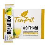 Чай TeaPot имбирный концентрированный в стиках 180г