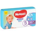Трусики-підгузки Huggies Pants 5 Mega 12-17 кг для хлопчиків 48 шт