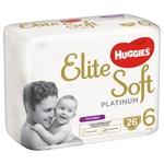 Huggies Elite Soft Platinum Mega 6 Panties-Diapers from 15kg 26pcs