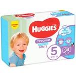 Huggies 5 boys Pants-diapers 12-17kg 34pcs