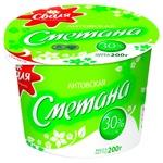 Sour cream 30% 200g Lithuania