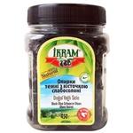 Оливки Ikram темні з кісточною слабосолені 450г