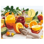 Citrus Still Life Set for Painting by Numbers 40x50cm