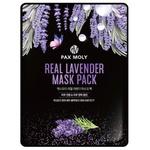 Маска для обличчя Pax Moly Real Lavender тканинна з екстрактом лаванди 25мл
