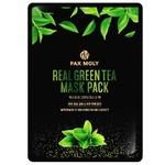 Маска для лица Pax Moly Real Green Tea тканевая с экстрактом зеленого чая 25мл