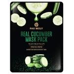 Маска для лица Pax Moly Real Cucumber тканевая с экстрактом огурца 25мл