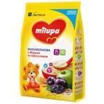 Каша молочная Milupa Мультизлаковая с яблоком и черносливом 210г
