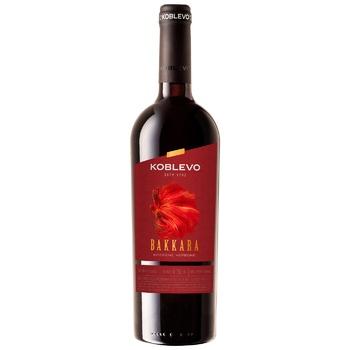 Вино Коблево Баккара красное крепкое 17.5% 0,75л - купить, цены на ЕКО Маркет - фото 1
