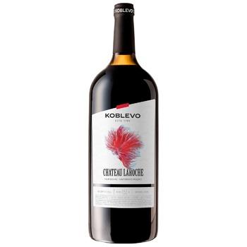 Вино Koblevo Chateau Laroche красное полусладкое 1,5л