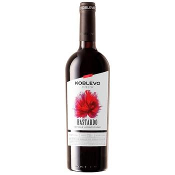Koblevo Bordo Bastardo Red Semi-Sweet Wine - buy, prices for CityMarket - photo 2