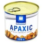 Eurogroup Salted Roasted Peanuts 125g