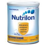 Суміш молочна Нутриція Нутрилон безлактозний суха для дітей з народження залізна банка 400г Нідерланди