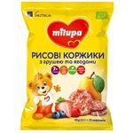 Milupa Rice Cakes Pear Berries 40g